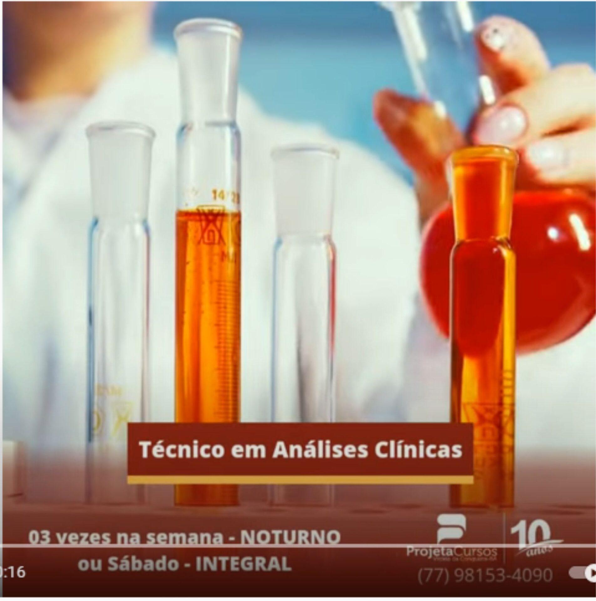 Promoção Técnico em Análises Clínicas